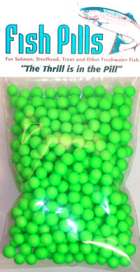 Fish Pills Guide Pack: Fluorescent Green