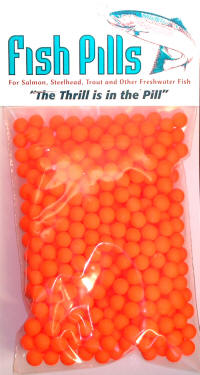 Fish Pills Guide Pack: Fluorscent Orange