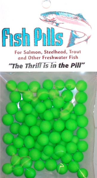 Fish Pills Standard Packs:Fluorescent Green