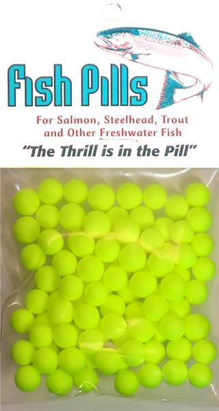 Fish Pills Standard Packs:Chartreuse