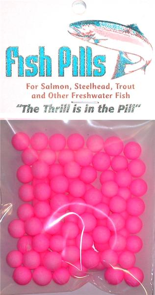 Fish Pills Standard Packs:Steelie Pink