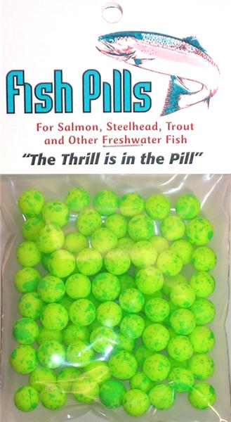Fish Pills Standard Packs:Clown Green