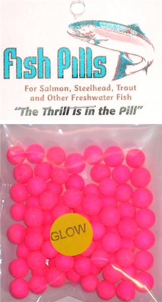 Fish Pills Standard Packs:Glow Pink