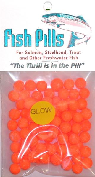 Fish Pills Standard Packs:Glow Orange