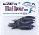 Trout Worms: Black Shad