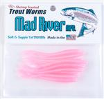 Trout Worms: Pink Pearl