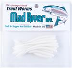 Trout Worms: White Shad