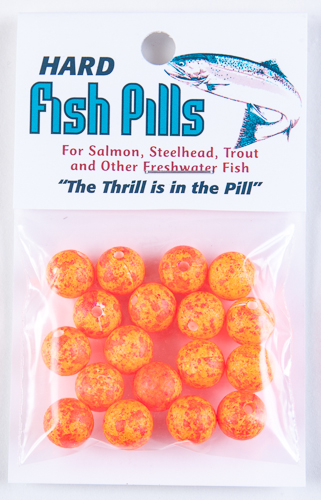 Hard Fish Pills/Floaties - Clown Red