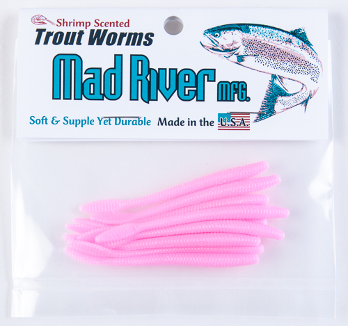 Trout Worms: Bubble Gum