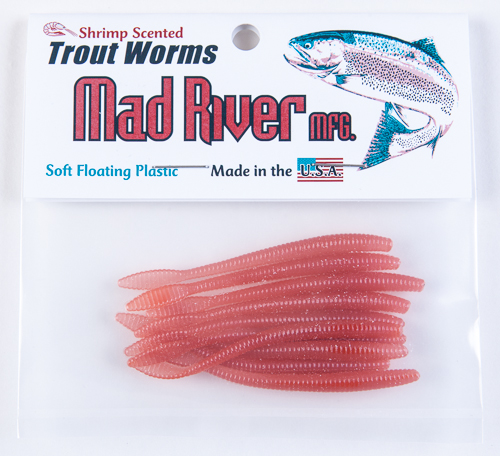 Trout Worms: Red Worm